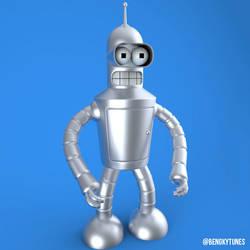 Shiny Metal Bender by bnky