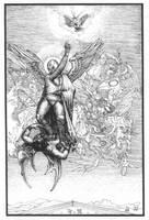 Santo vs Demon by angelero