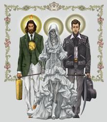 La Santisima Trinca by angelero