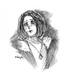 Emily UNTIL DAWN by MidLangley