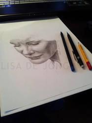 Jessica Lange [unfinished] by LisaCooper91