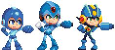 Megaman Trio! by Davitsu