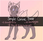 .:P2U:. Simple Canine Base [10pts] by Esarts-Adopts
