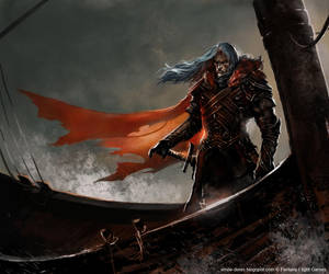 Griff Targaryen by Trishkell