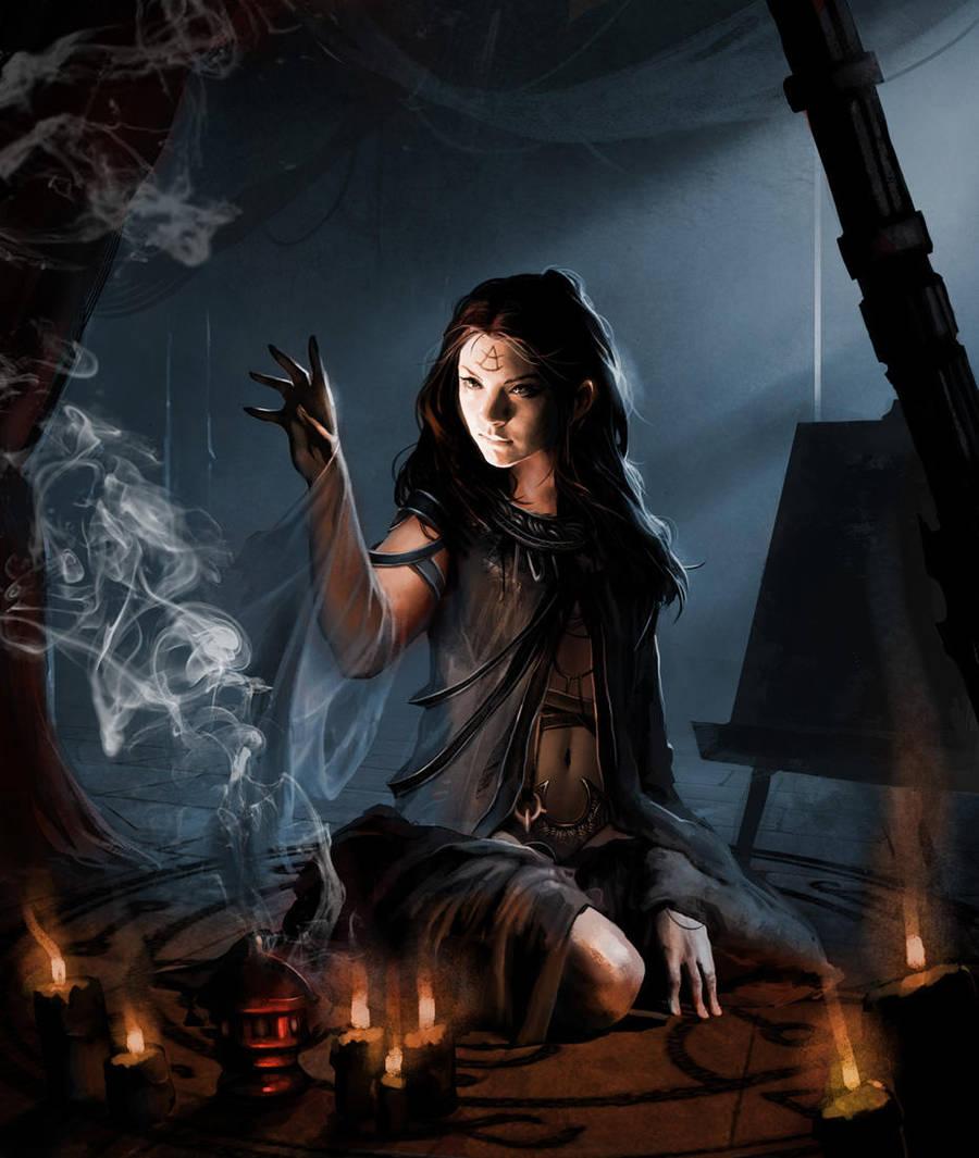 Initiation Ritual by Trishkell