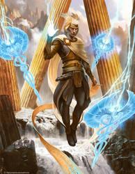 Hermes by Trishkell