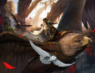 Eagle Rider by Trishkell