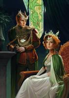 Carbuncle Crown by Trishkell