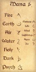 Mana runes V2 by MMan222