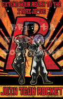 Team Rocket Propaganda Poster by t3rrorbunny
