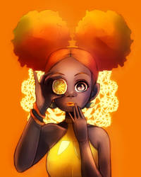 Orange by Merlewae