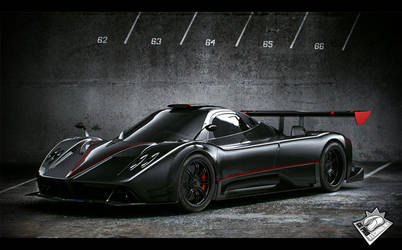 Zonda R test render by salimljabli