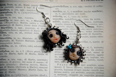 Coraline Earrings by nuclearpomegranate