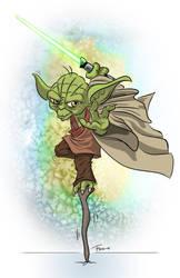 Jedi-fu master by Frol-Nounours