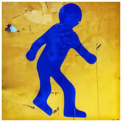 Little Blue Man by KizukiTamura