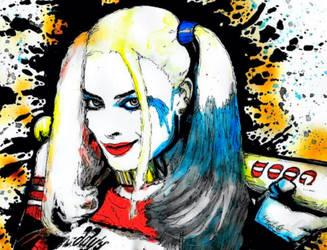Harley Quinn by eddiethey3t1