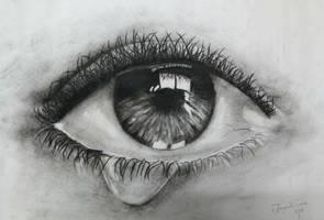 charcoal eye by Jayatii