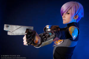 Sabine Wren Cosplay 3 by mblackburn