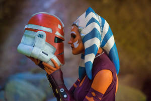 Ahsoka Tano Cosplay: 332nd Battalion by mblackburn