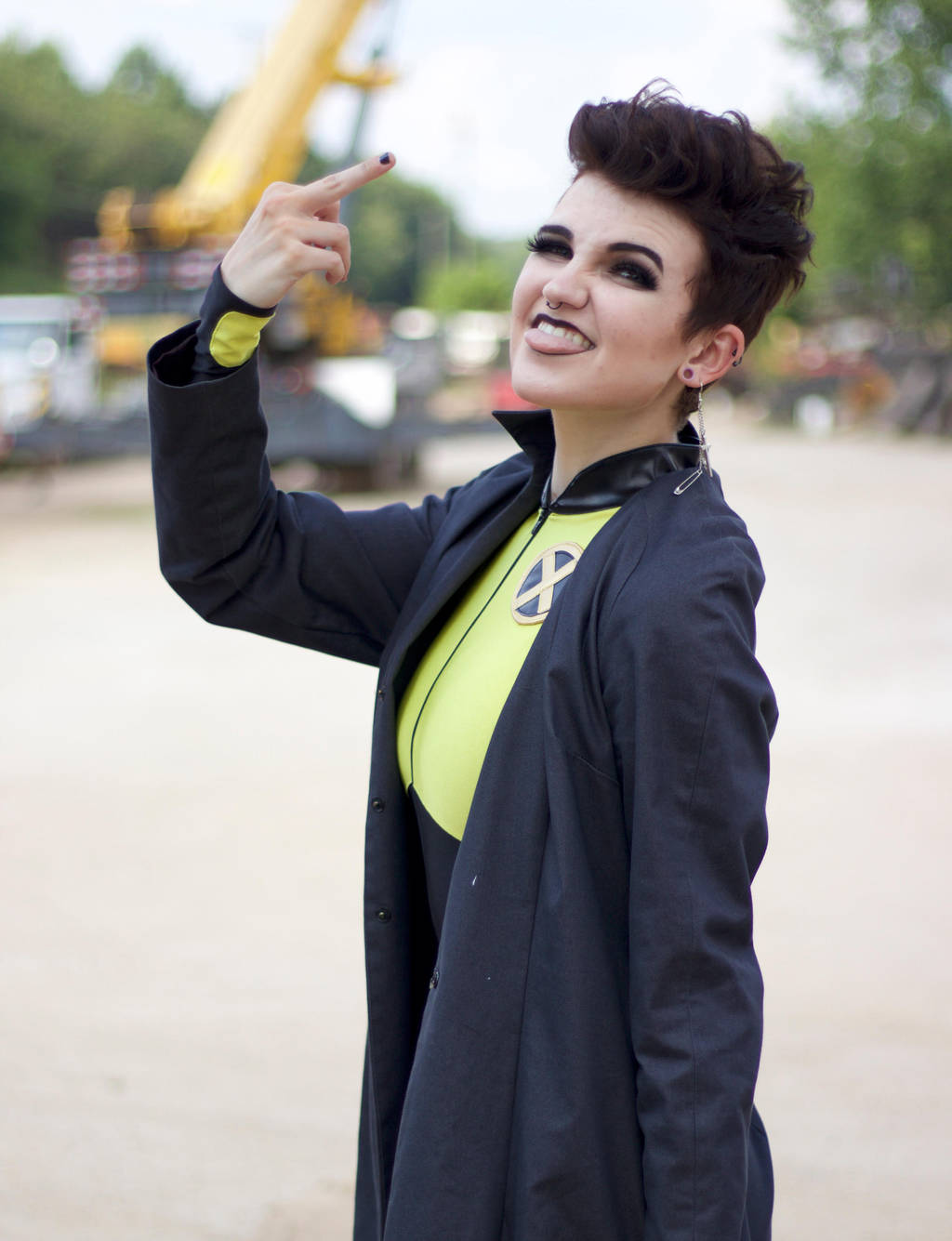 Negasonic Teenage Warhead Cosplay 2 by mblackburn