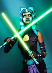 Ahsoka Tano Cosplay (Clone Wars) by mblackburn