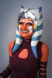 Ahsoka Tano Cosplay (Clone Wars) smile by mblackburn