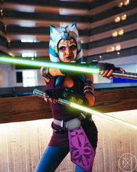 Ahsoka Tano Cosplay (Clone Wars Saved) 2 by mblackburn