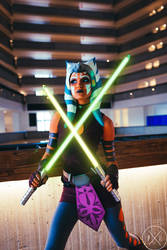 Ahsoka Tano Cosplay (Clone Wars Saved) 4 by mblackburn