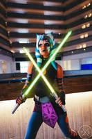 Ahsoka Tano Cosplay (Clone Wars Saved) 4 by mblackburn