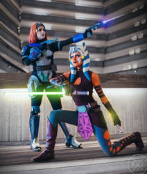 Siege Of Mandalore Cosplay (Ahsoka and Bo-Katan) by mblackburn