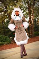 Ahsoka Tano (Winter Coat) Cosplay 4 by mblackburn