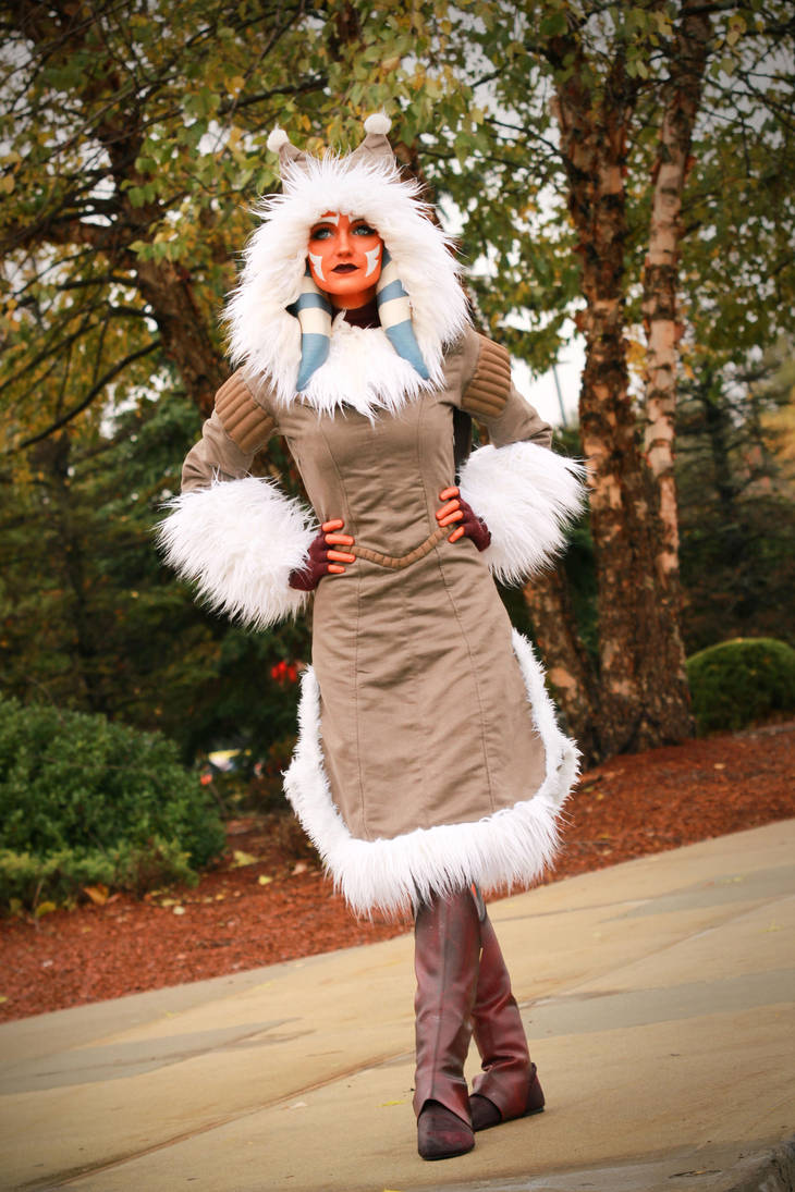 Ahsoka Tano (Winter Coat) Cosplay 4 by mblackburn