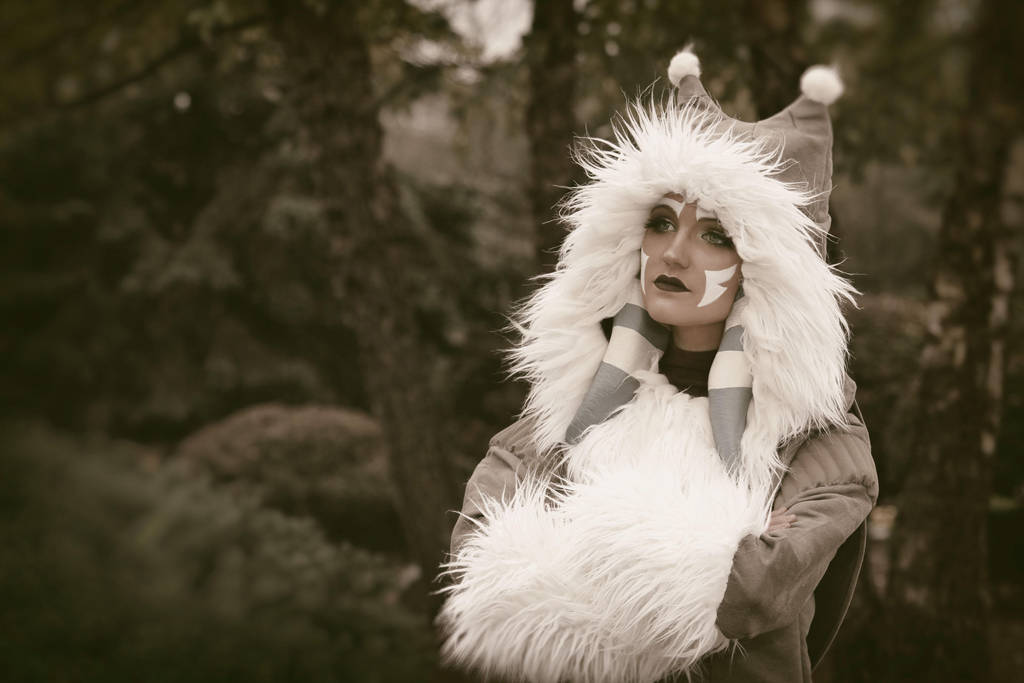 Ahsoka Tano (Winter Coat) Cosplay 5 by mblackburn