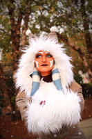 Ahsoka Tano (Winter Coat) Cosplay 6 by mblackburn