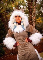 Ahsoka Tano (Winter Coat) Cosplay 7 by mblackburn