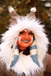 Ahsoka Tano (Winter Coat) Cosplay 8 by mblackburn