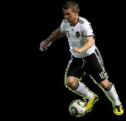 Lukas Podolski Germany Team by OmaR-GeNtLeMaN