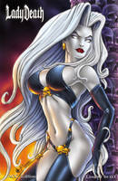 ABQ Comic Con Lady Death Exclusive cover 1 by Artassassin