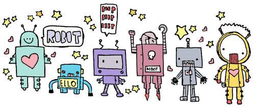 Robots by Cheylin