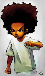Huey Freeman from Boondocks by kid1989