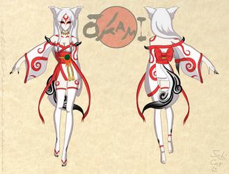 Amaterasu Reference Sheet 2 by Sabi-Cat-13