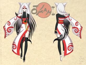 Amaterasu Reference Sheet 4 by Sabi-Cat-13