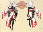 Amaterasu Reference Sheet 4 by Sabi-Cat-13