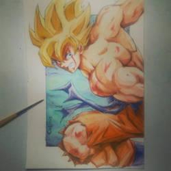 Goku by Carlotus