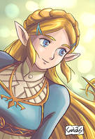 Zelda by Carlotus