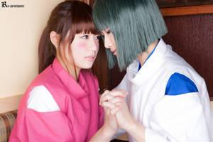 Chihiro and Haku by Yume-ka