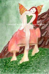 The Green Faery by JenLeeArt