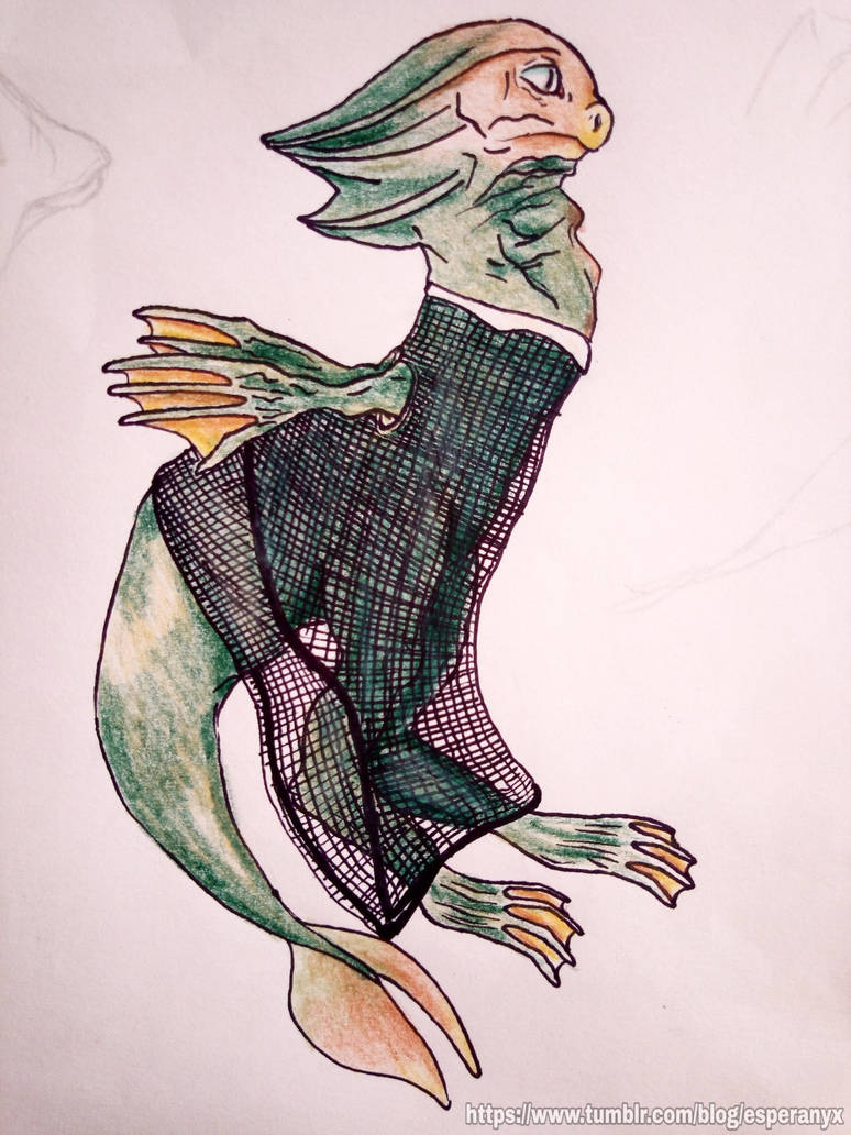 Sea Devil (Doctor Who) - Redesign by PantaRei-Kikky
