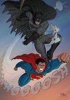 Superman Batman by RHOM13