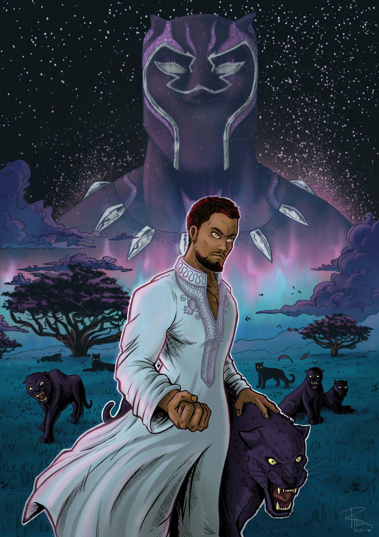 Black Panther by RHOM13
